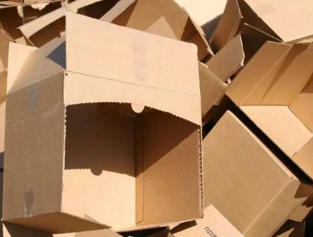 Переработка картонных коробок