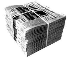 Газета, газетная макулатура