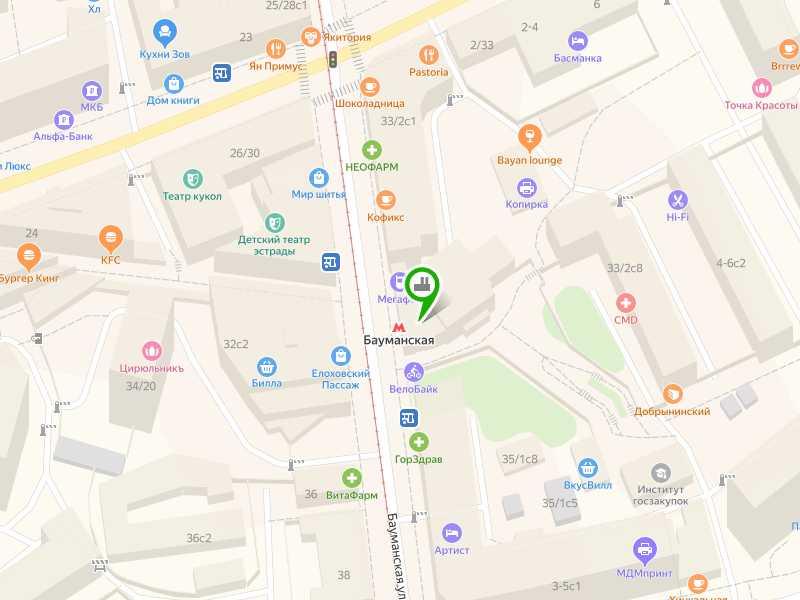 Пункт приема макулатуры на станции метро Бауманская